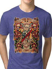 Informative Signs - Set 01 - Smoking Tri-blend T-Shirt