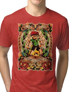 Informative Signs - Set 01 - Price subject to change Tri-blend T-Shirt