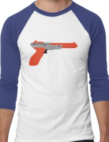 8 bit zapper Men's Baseball ¾ T-Shirt