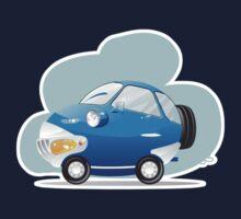 Blue car Kids Clothes