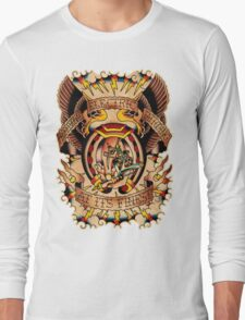 Informative Signs - Set 01 - Electric tattooing Long Sleeve T-Shirt