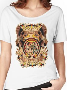 Informative Signs - Set 01 - Electric tattooing Women's Relaxed Fit T-Shirt