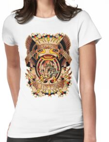 Informative Signs - Set 01 - Electric tattooing Womens Fitted T-Shirt