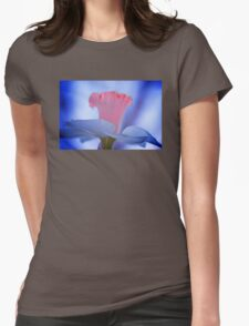 Painted Daffodil Womens Fitted T-Shirt