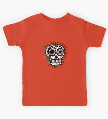 Sugar Skull - sharpie Kids Clothes