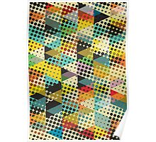 Dots and Triangles II Poster