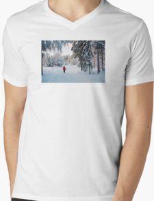 Walking in Wonderland Mens V-Neck T-Shirt