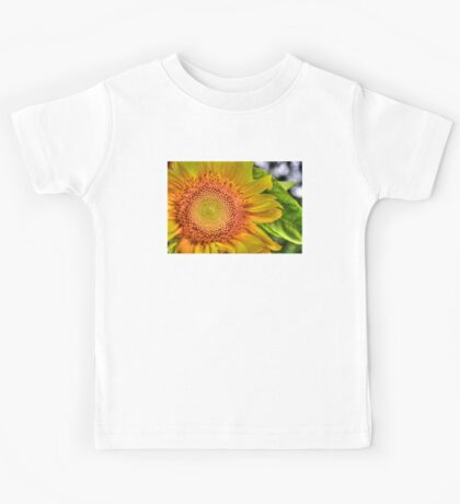 Mom and Baby matching Sunflower QTees Kids Tee