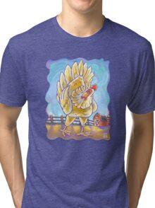 Animal Parade Chicken Tri-blend T-Shirt