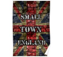 Small Town England Poster