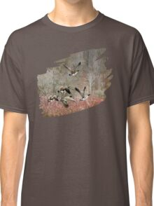 Canada Geese in Flight Classic T-Shirt