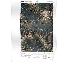 USGS Topo Map Washington State WA Mount Prophet 20110503 TM Poster