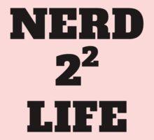 Nerd 4 Life Kids Tee