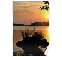 Inks Lake State Park Sunset Poster
