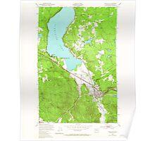 USGS Topo Map Washington State WA Issaquah 241673 1950 24000 Poster