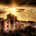 Old Montalto at Sunset by Marco Borzacconi