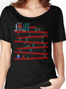 Metroid Kong Women's Relaxed Fit T-Shirt