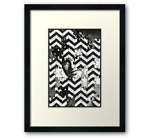 """Who Killed Laura Palmer?"" Framed Print"