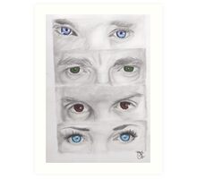 """Sherlock"" Eyes Art Print"