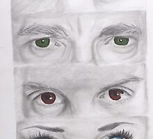 """Sherlock"" Eyes by SoderblomArt"