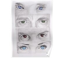 """Sherlock"" Eyes Poster"