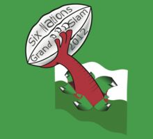welsh grand slam six nation 2012 Kids Clothes