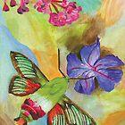 Hummingbird Moth's Delight by KerCos86