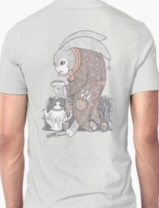 The March Hare Awaits Tee Unisex T-Shirt