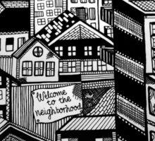 The Neighborhood Sticker