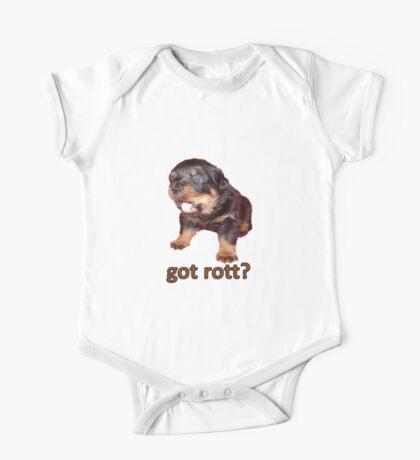 Got Rott? Rottweiler Owner  One Piece - Short Sleeve