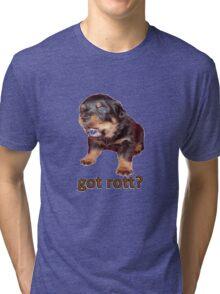 Got Rott? Rottweiler Owner  Tri-blend T-Shirt