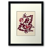 Pain in Heart Framed Print