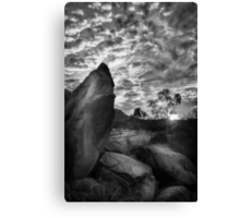 Desert Monuments Canvas Print