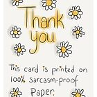 Thank you Card by twisteddoodles