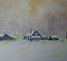 Winter on Dungeness by Beatrice Cloake