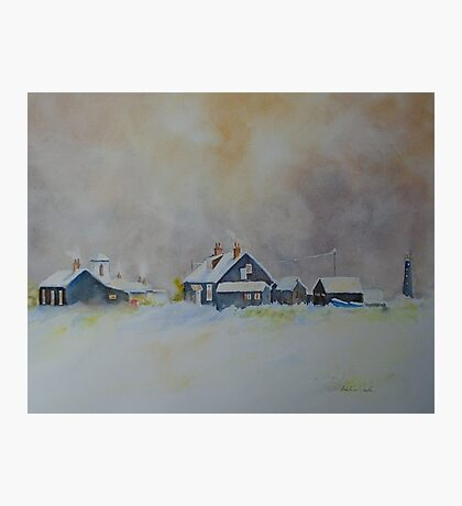 Winter on Dungeness Photographic Print