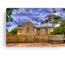 The Station Masters House - Goolwa, South Australia Canvas Print