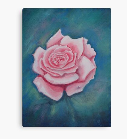 The Pink Rose Canvas Print