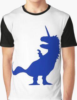 Unicorn T-Rex Graphic T-Shirt