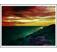 Crazy coast Photographic Print