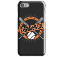 Baseball is Life iPhone Case/Skin