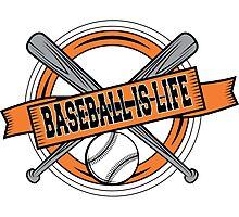 Baseball is Life Photographic Print