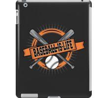 Baseball is Life iPad Case/Skin
