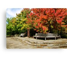 Autumn Beauty Landscape Art Canvas Print