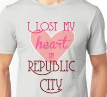 I Lost my heart in Republic City Unisex T-Shirt