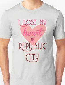 I Lost my heart in Republic City T-Shirt