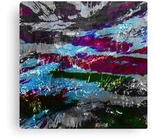 the darkest night 2 Canvas Print