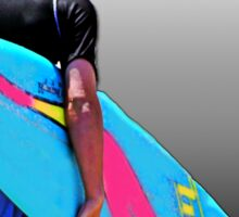 Heading for the Surf Sticker