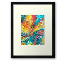 Abstract Colors II Framed Print