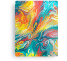 Abstract Colors II Metal Print